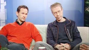 Robin Svartström ja Esa Leskinen