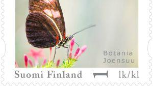 Perhos-aiheinen postimerkki
