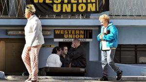Western Unionin rahanvaihtopiste Kuuban Havannassa.