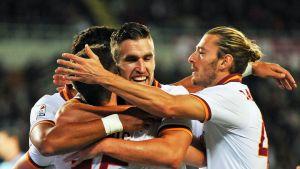 Roma juhlii avausmaalia Torinoa vastaan 4.11.2013