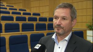 Forcit Oy:n toimitusjohtaja Ulf Sjöblom.