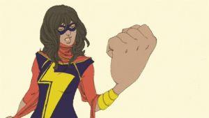 Marvel-sarjakuvatuottajan Muslim superhero.