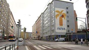 Helsingin Hämeentie.