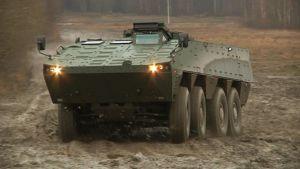 Patrian AMV-vaunu.