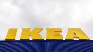 Ikean logo.