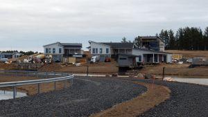 Kalajoen loma-asuntomessualuetta rakennetaan