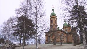 Ilomantsin ortodoksinen kirkko.