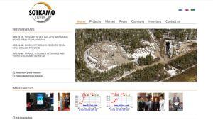 Kuvakaappaus Sotkamo Silverin nettisivulta.