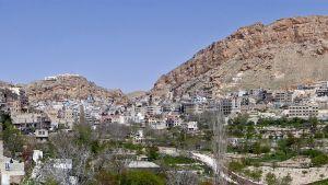 Maaloulan kylä Syyriassa.