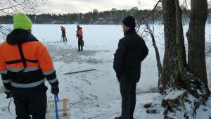 031212 Joutjärven jätevesivuoto Lahti