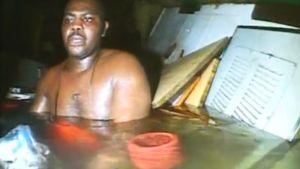 Harrison Odjegba Okene pelastettiin uponneesta laivasta Atlantin pohjasta kolme vuorokautta onnettomuuden jälkeen.
