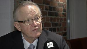 presidentti Martti Ahtisaari