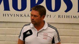 Cocksin päävalmentaja Kaj Kekki.