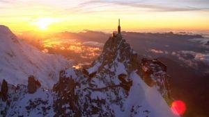 Aiguille du Midi -ylähissiasema Ranskan Chamonixissa.