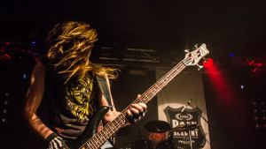 Mechanical Valkyrien basisti Turku Band Stand -kisassa 2013.