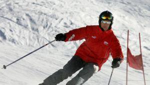 Michael Schumacher rinteessä.