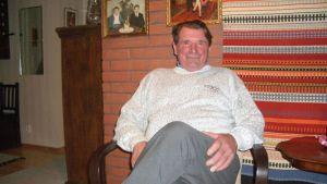 Eero Mäntyranta kotonaan marraskuussa 2007.