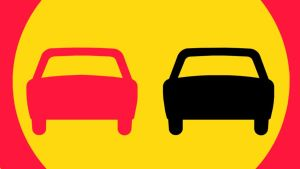 Liikenemerkki ohituskielto