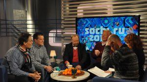 Urheiluviikonlopun Sotshi-keskustelu.