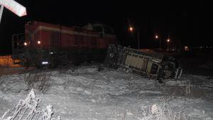 junaonnettomuus Kemijärvi