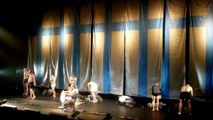 Tuntematon sotilas-ooppera Oulun kaupunginteatterissa