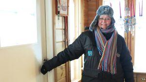 Arctic Lapland Rallyn katsastuspäällikkö Pirjo Österholm