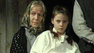 nuorin ja vanhin näyttelijä kuvassa