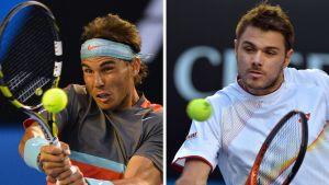 Rafael Nadal ja Stanislas Wawrinka