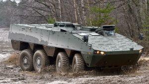 Patrian valmistama AMV-panssariajoneuvo.