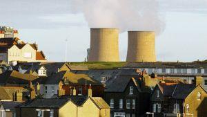 Sellafieldin ydinvoimalalaitos.