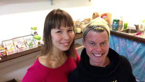Katja Kallinen ja Nitta  Lusi
