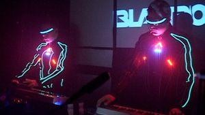 Blastromen-yhtye esiintymässä.