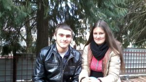 Aleksi, 19, ja Kristina, 18.