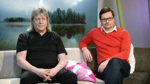 Hannes Heikura ja Matti Huutonen.