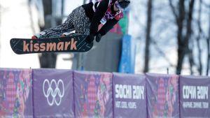 Markus Malin olympiakourussa.