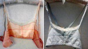 Julia Sjöblom valmisti Suomen ensimmäiset rintaliivit kopioimalla valokuvasta amerikkalaisia rintaliivejä vuonna 1917 tai 1918.