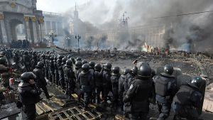 Ukraina mielenosoitukset.