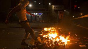 Venezuela mielenosoitus.