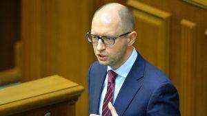 Ukrainan uusi pääministeri Arseni Jatsenjuk.
