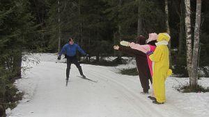 Rajalta Rajalle-hiihto 2014