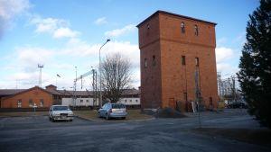 Vesitorniin suunniteltu hotellin laajennus Seinäjoella.
