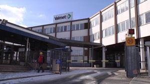 Valmetin Rautpohjan tehdas Jyväskylässä.