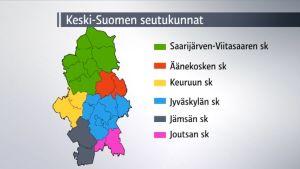 Keski-Suomen seutukunnat