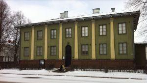 Alvar Aallon suunnittelema suojeluskuntatalo Seinäjoella, suojeluskuntamuseo