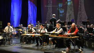 Eläkeläiset ja Kuopion kaupunginorkesteri yhteisissä harjoituksissa