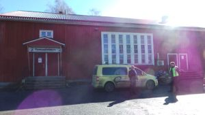 Porin Konepyöräklubin omistama Sirola-rakennus