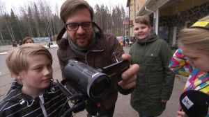 Mediabussi koulu opetus uutisluokka Huhtasenkylän koulu Ruokolahti