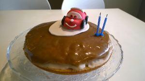 Allergiselle sopiva kakku.