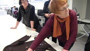 Vaasa-opiston ompelukurssi kevätlukukaudella 2014