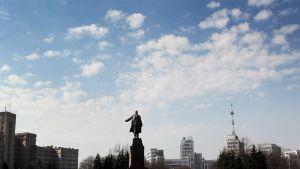 Lenin-patsas Harkovassa.
